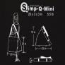 Компактные фотобоксы  Simp-Q S легко монтируются и переносятся